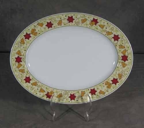 Rosenthal Noèl ovale Platte 38 cm