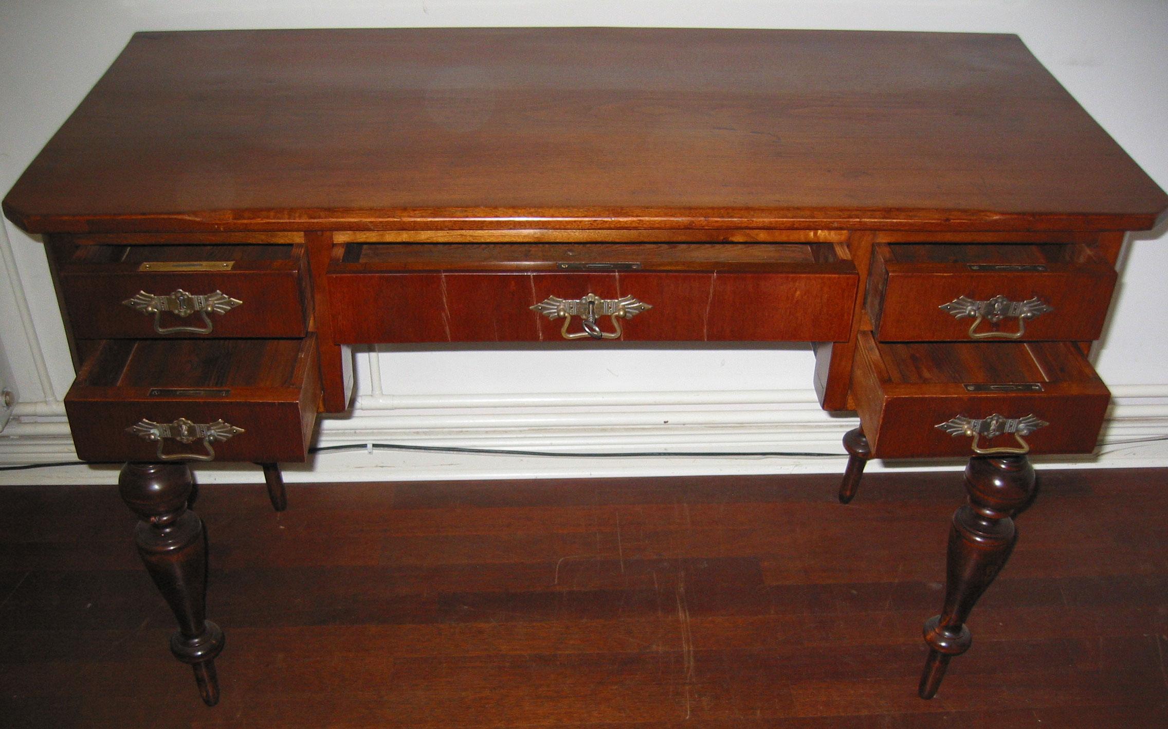 Schreibtisch Aus Der Gründerzeit Schreibtisch