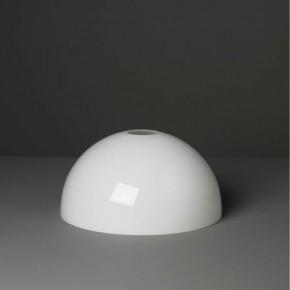 Lampenglas Halbkugel opal-weiß (30 cm)