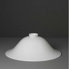 Lampenglas Helmform opal-weiß (35 cm)