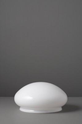 Lampenglas Kuppelform opal-weiß Ø 25 cm