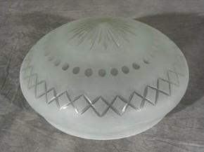 Kuppelschirm mit Stern und Kreuzschliff (40 cm)