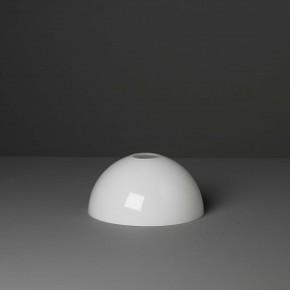 Lampenglas Halbkugel opal-weiß (18 cm)