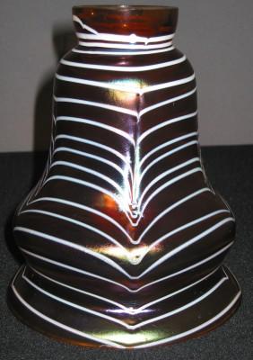 Lampenglas Jugendstil in der Art von Lötz-Glas NEU