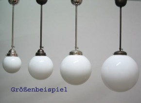 Deckenlampe Stange Kugel (25 cm)