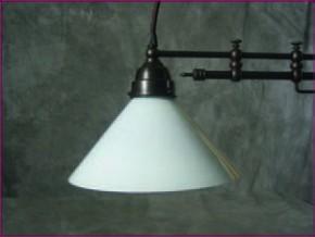 Zuglampe Messing 2flammig Jugendstil verstellbare Arme