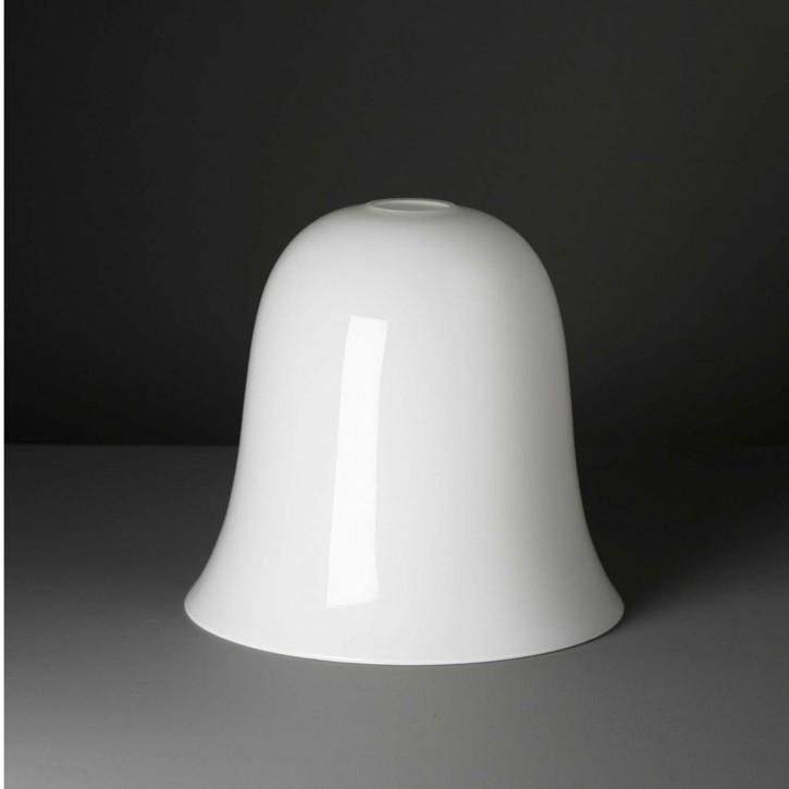 "Lampenglas  ""Kelch"" opal-weiß (25 cm)"