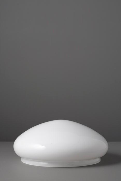 Lampenglas Kuppelform opal-weiß Ø 30 cm