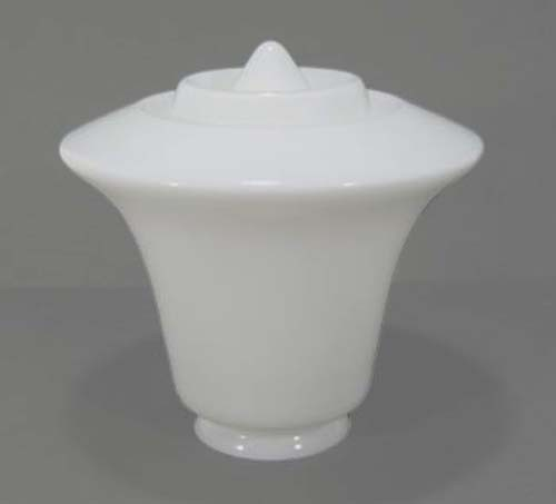 Lampenglas Trichter geschlossen mit Spitze Ø 23 cm