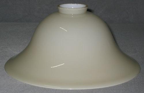 Lampenglas Helmform beigefarben Ø 20 cm
