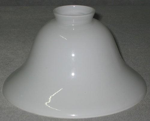 Lampenglas Helmform opal-weiß (20 cm)