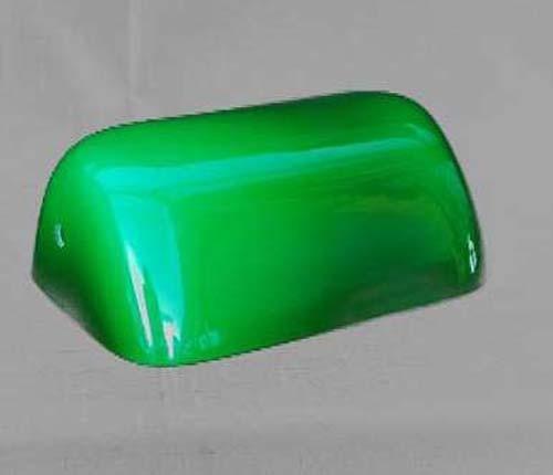 Ersatzglas Bankerleuchte grünfarben