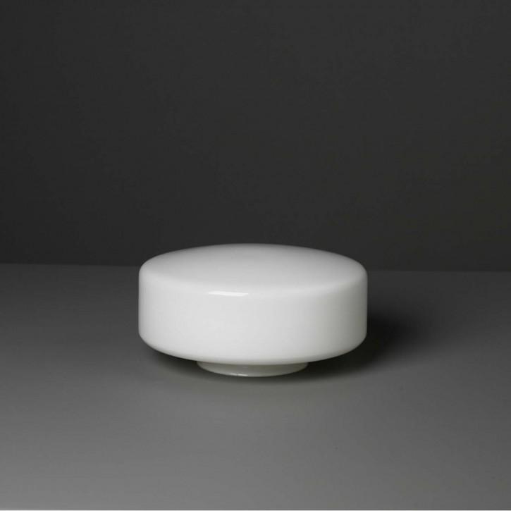 """Lampenglas  """"Kreis"""" opal-weiß Ø 20 cm"""