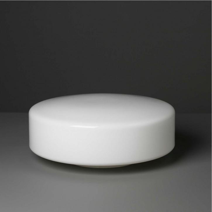 """Lampenglas  """"Kreis"""" opal-weiß Ø 30 cm"""