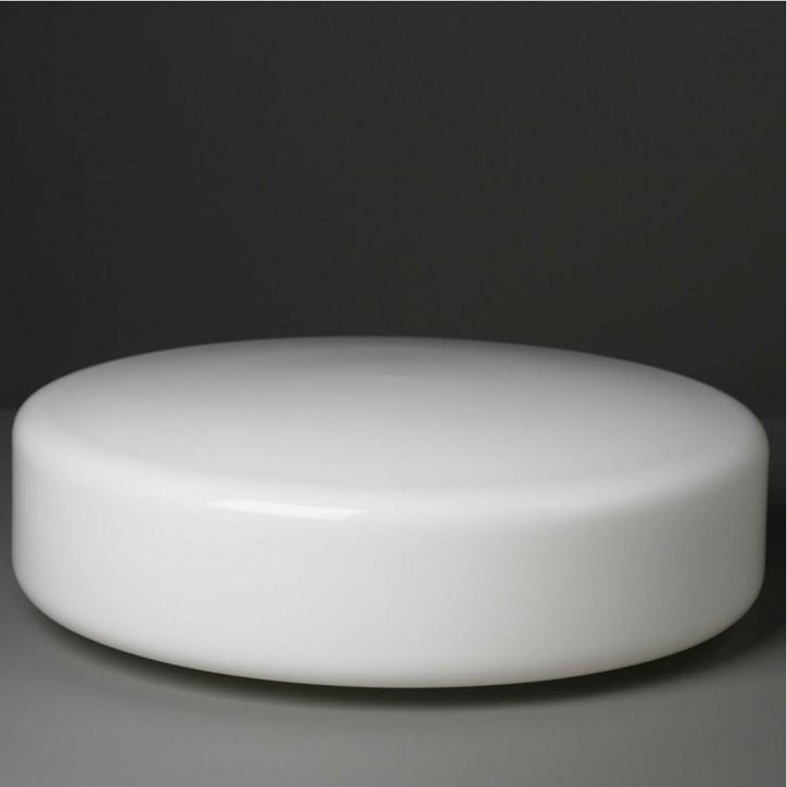 """Lampenglas  """"Kreis"""" opal-weiß Ø 40 cm"""