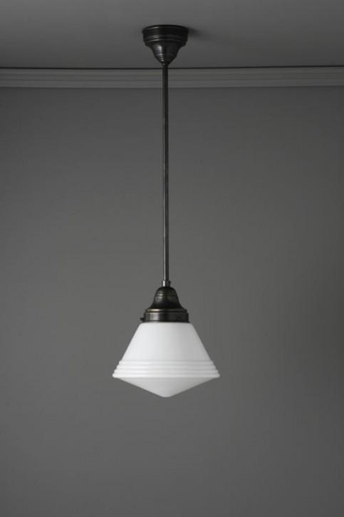 Deckenlampe Stange mit Trichterschirm
