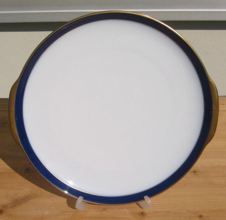 Hutschenreuther Drache exclusiv Kobalt Tortenplatte