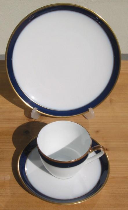 Hutschenreuther Drache exclusiv Kobalt Kaffeegedeck