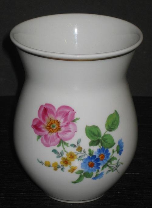 Meissen Vase Blumenmotiv