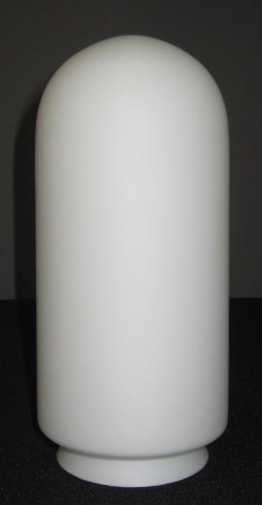 Lampenglas Kolbenform satiniert opal