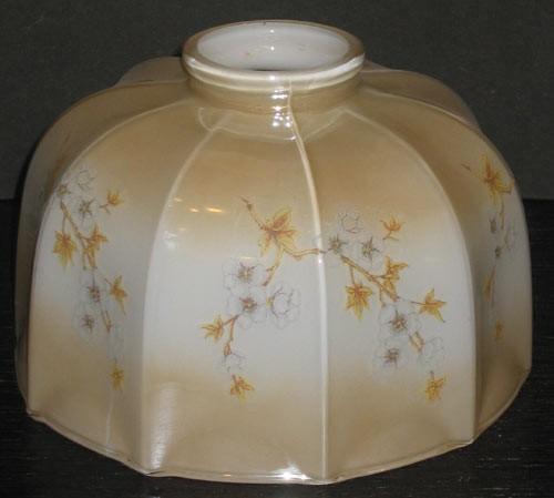 Küchenschirm mit Blütenmotiv Ø 19 cm