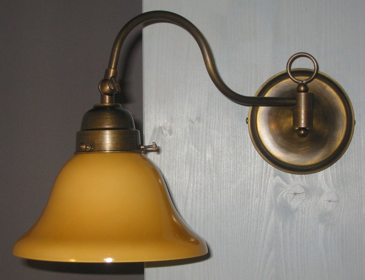 Wandlampe mit Gelenk 1flammig