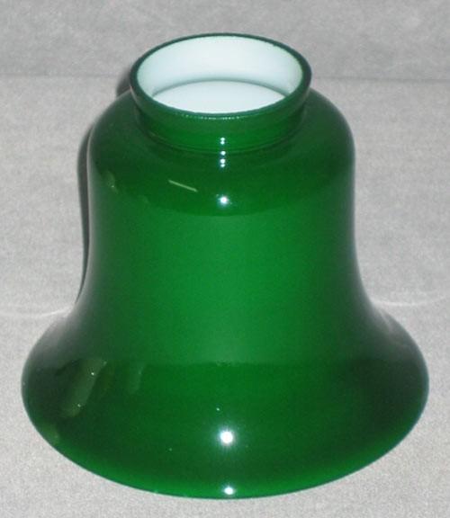 Ersatzglas Tisch / Deckenlampe in Rockform grünfarben