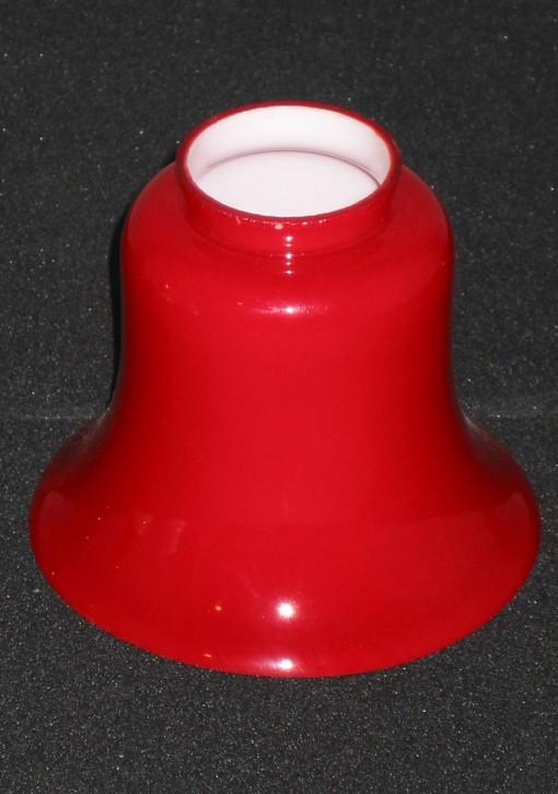 Ersatzglas Tisch / Deckenlampe in Rockform rotfarben