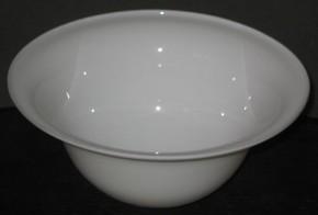 Lampenglas Helmform opal-weiß hoch Ø 30 cm
