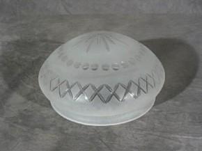 Kuppelschirm mit Stern und Kreuzschliff (15 cm)