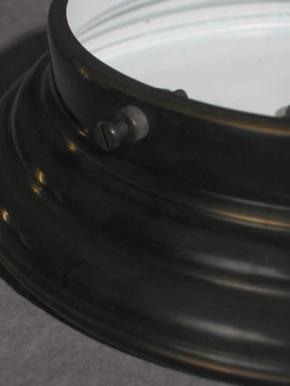 Deckenring mit Trichterschirm (20 cm)
