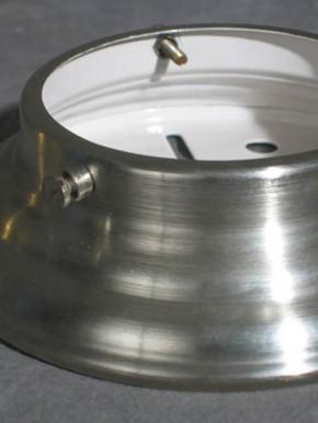 Deckenring mit Schliffschirm  (30 cm)