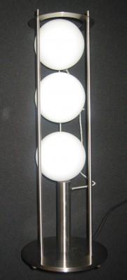 Tischlampe 3flammig mit Glaskugel
