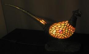 Tiffany Lampe Fasan