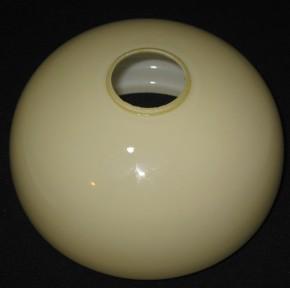 Kuppelschirm beigefarben  Ø 18 cm