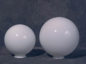 Glaskugel opal-weiß Ø 15 cm