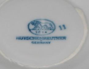Hutschenreuther Kerzenleuchter Zwiebelmuster verziert klein